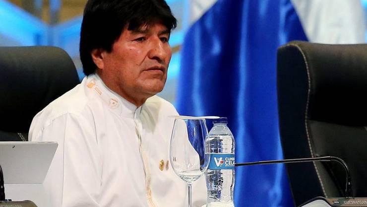 Evo Morales regiert Bolivien seit elf Jahren. (Archivbild)