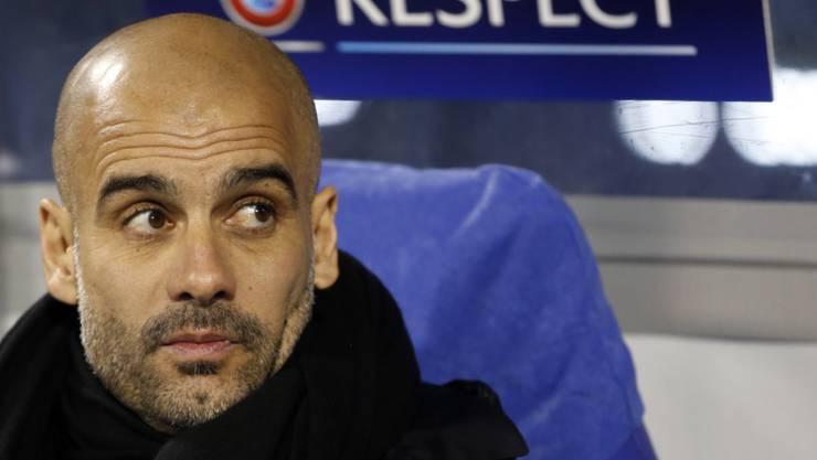 Pep Guardiola verlässt Bayern München.