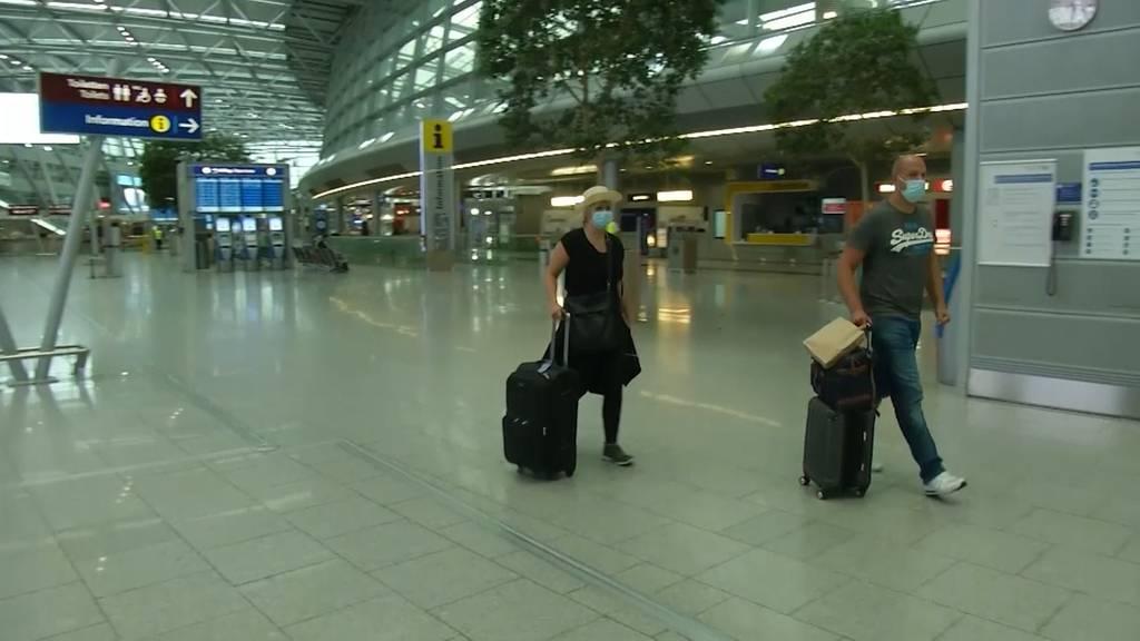 Erste «Test-Urlauber» nach Mallorca gereist