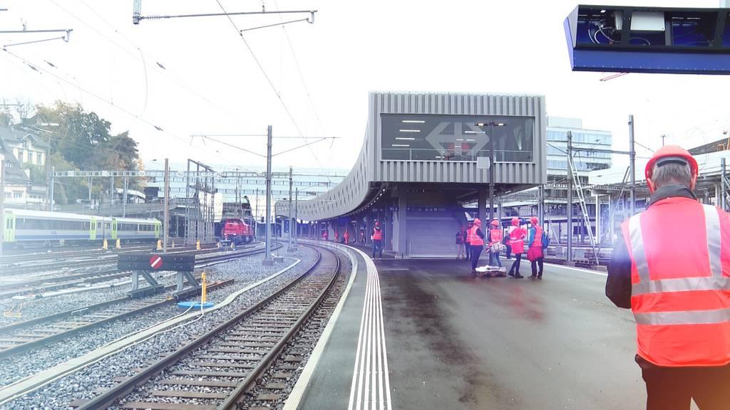 Umbau Bahnhof Bern: 385-Meter-Verlängerung von Gleis 9 und 10