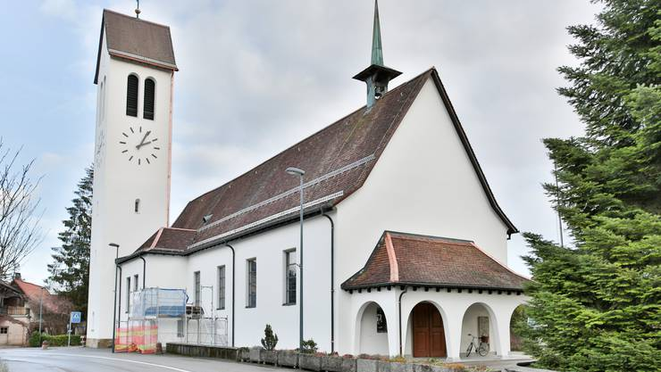 Nach der Renovation 2015 erstrahlt die Kirche wieder in neuem Glanz
