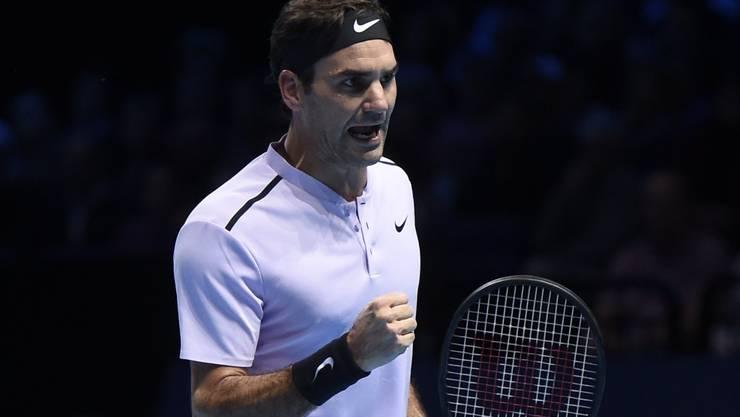 Roger Federer wurde von Alexander Zverev hart getestet.