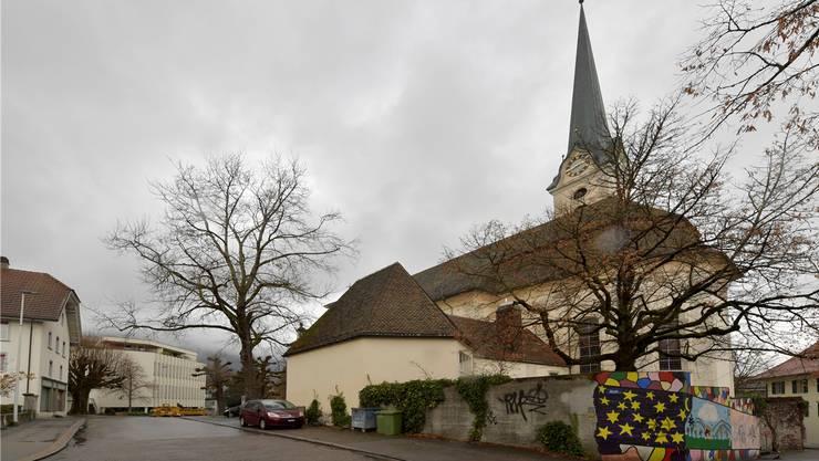 Die Gestaltung der Südseite der Eusebiuskirche ist zurzeit nicht einladend. Das soll sich jetzt ändern.