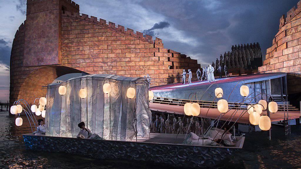 Die Oper Turandot lockte letztes Jahr 170'000 Besucher an den Bodensee.