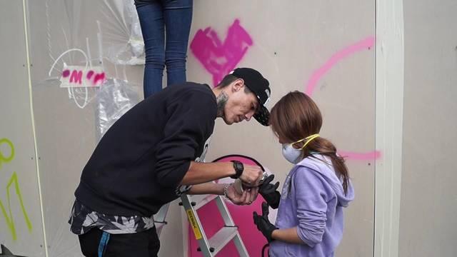 Graffiti- und Streetart Workshop in Uitikon