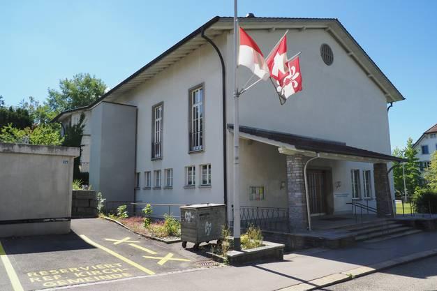 ...das Kirchgemeindehaus in Schönenwerd...