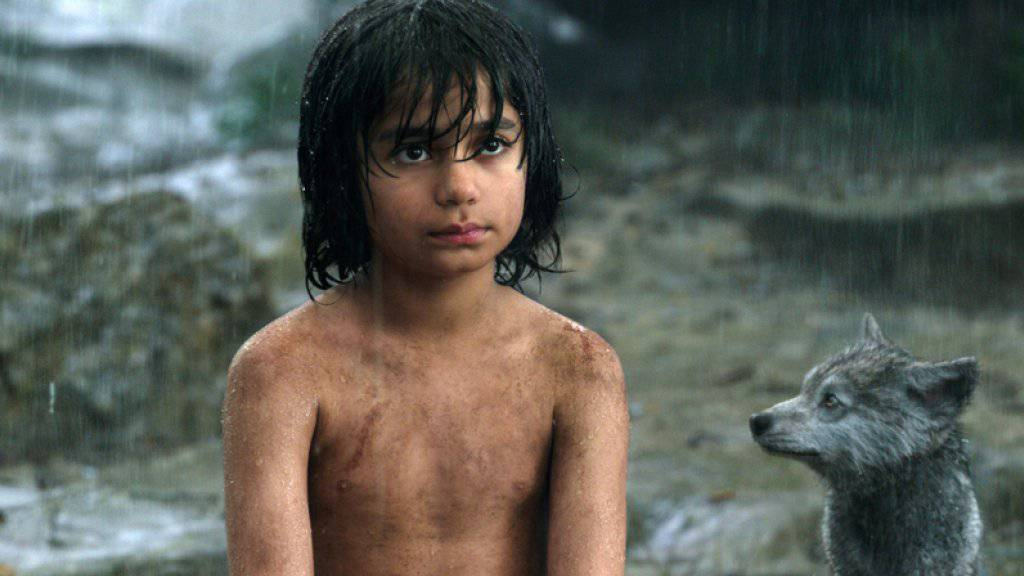 Neel Sethi spielt Mogli in Jon Favreaus Neuauflage des Filmklassikers «The Jungle Book» (Archiv)
