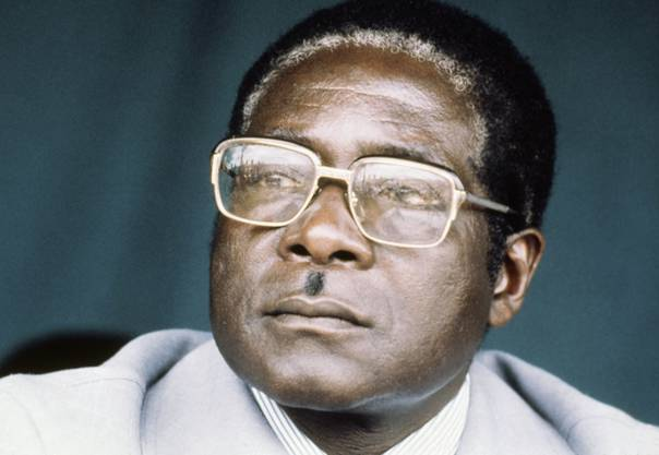 Robert Mugabe im Jahr 1980 - damals galt er als Hoffnungsträger Afrikas