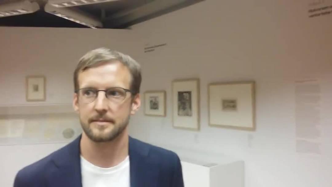 Videointerview mit Joachim Sieber, Provenienz-Beauftragter Kunsthaus Zürich.