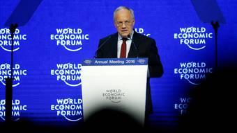 Traditionellerweise wird das WEF vom Bundespräsidenten eröffnet.