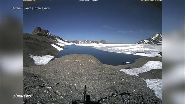 Evakuierungen wegen Gletschersee an der Lenk BE aufgehoben