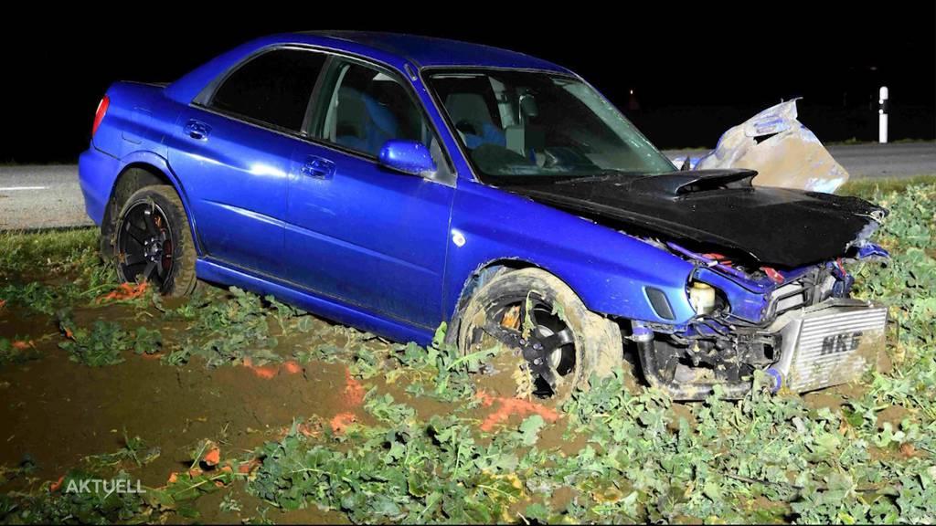 Nach Autounfall in Buttwil: PS-Beschränkung für Junglenker gefordert