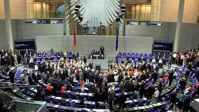Blick in den Bundestag in Berlin (Archiv)