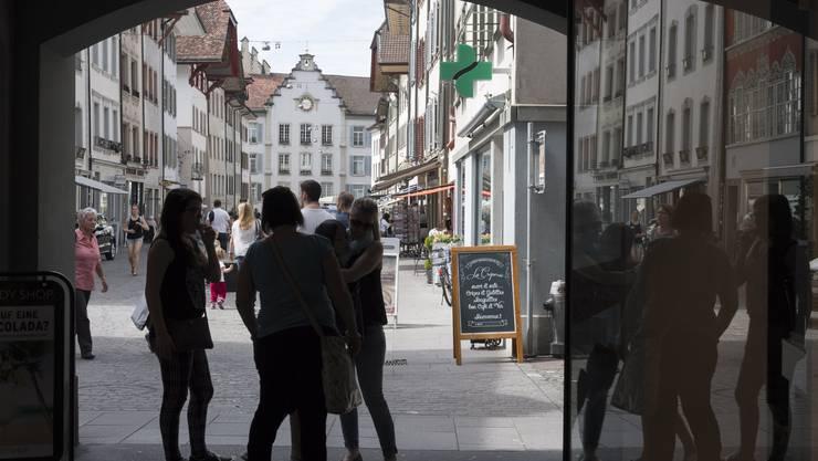 Impressionen aus der Altstadt Aarau