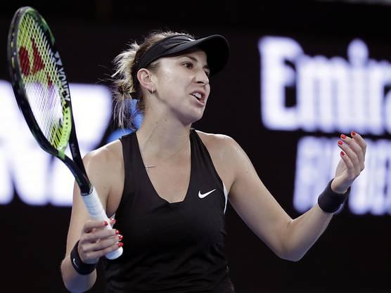 Nichts zu holen gegen Petra Kvitova: Belinda Bencic.