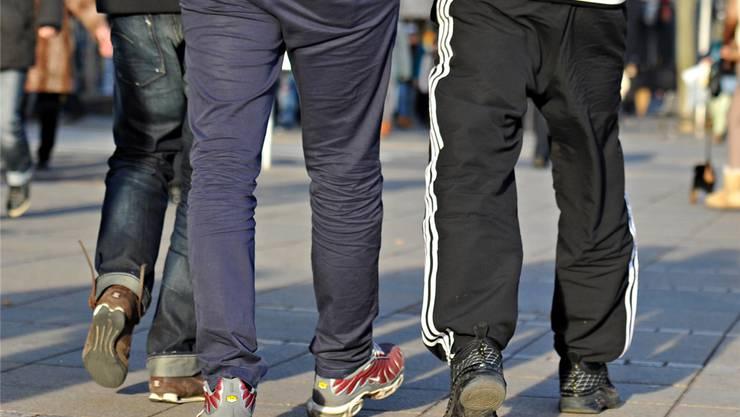 Die Schule Merenschwand empfiehlt in ihrer Kleiderordnung, auf Trainerhosen zu verzichten.