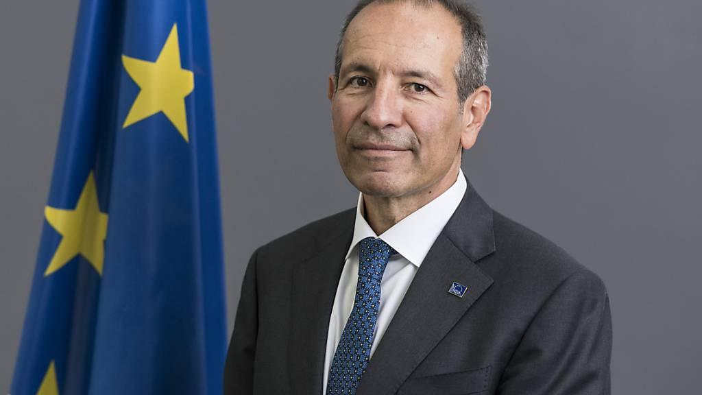 Der EU-Botschafter in der Schweiz, Petros Mavromichalis. (Archivbild)