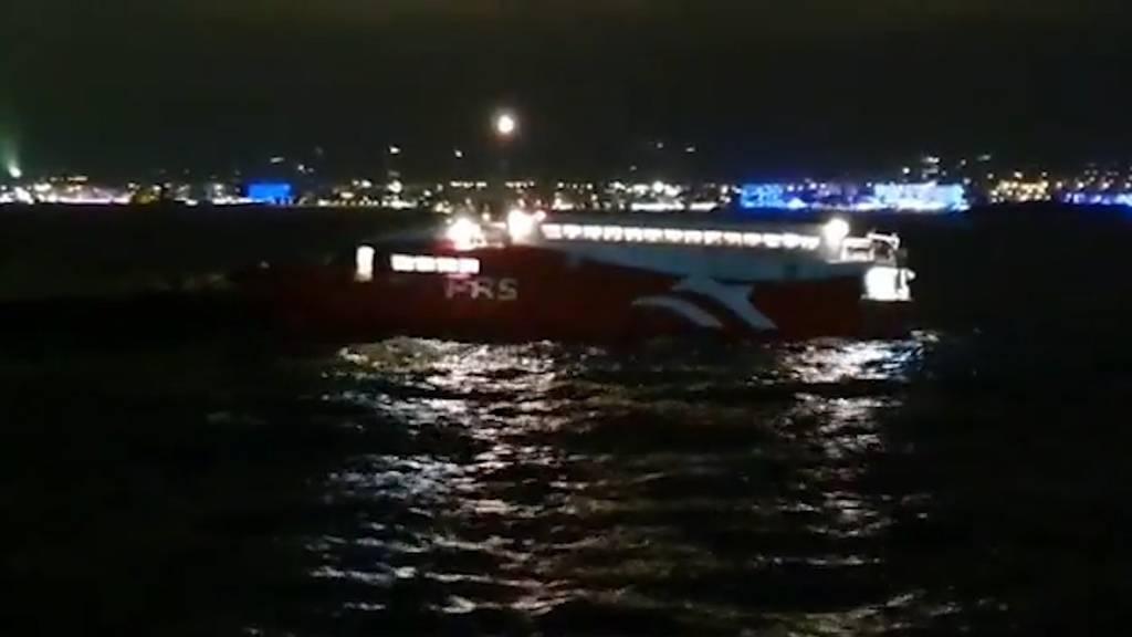 Fähre vor Ibiza auf Felsen aufgelaufen - 12 Verletzte