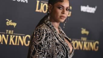 """Superstar Beyoncé leiht in der Neuverfilmung von """"The Lion King"""" der Hauptfigur Nala ihre Stimme und singt auch gleich den Titelsong."""