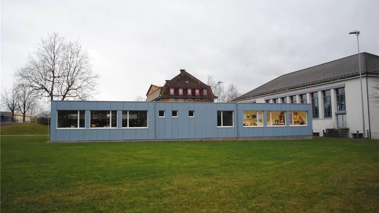 Auf den bestehenden Pavillon soll ein praktisch identisches 2. Stockwerk gebaut werden. nbo