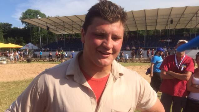 AG-Schwingfest: Sieger Nick Alpiger