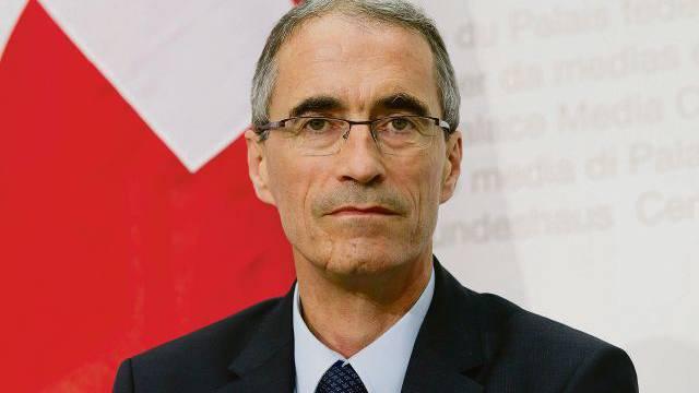 Serge Gaillard, Chef der Eidgenössischen Finanzverwaltung.  Foto: Keystone