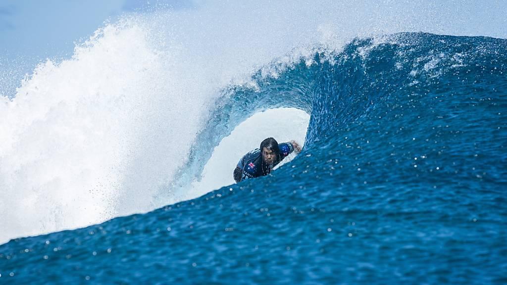 Olympische Surf-Konkurrenzen 2024 auf Tahiti