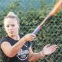Joanne Zügers Fokus gilt im Training der gelben Filzkugel.