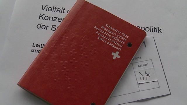 Abstimmen ohne Schweizer Pass