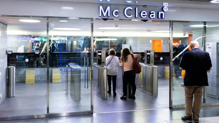 WC-Anlage im Zürcher Hauptbahnhof: Die Symbiose zwischen SBB und McClean erzählt ein Stück Bahnhofsgeschichte.