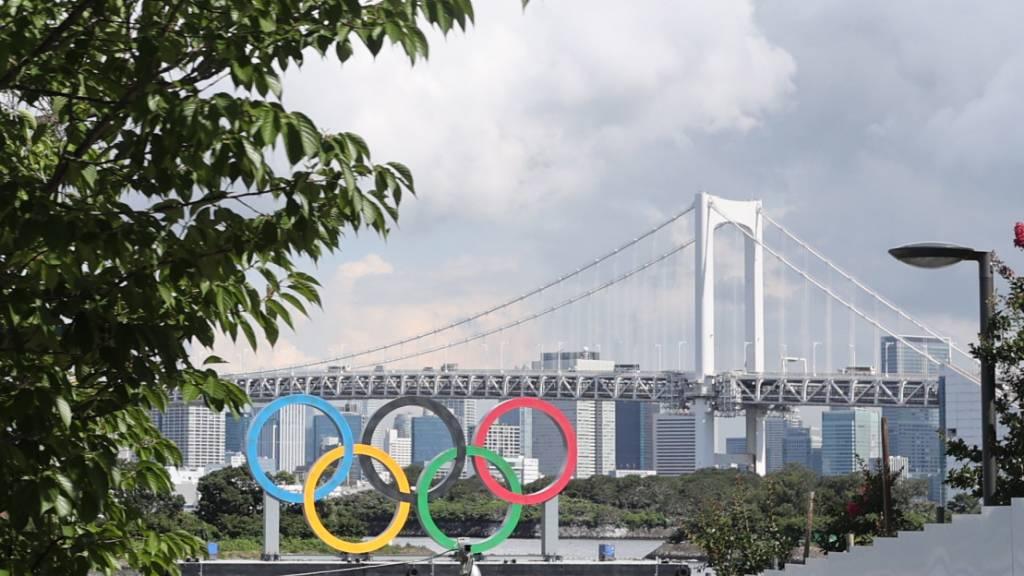 Zwei Corona-Fälle bei Athleten im olympischen Dorf