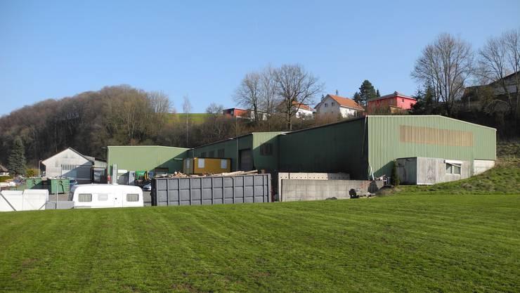 Das ehemalige Klein-Areal in Hornussen wurde Anfang 2019 versteigert.