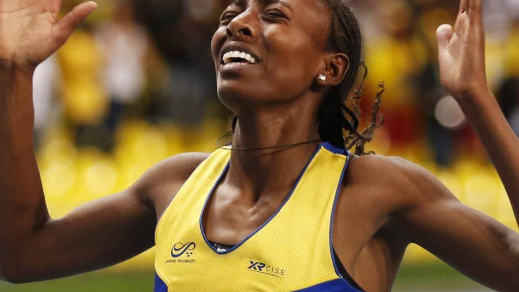1500-m-Weltmeisterin Aregawi blieb im Januar in einer Dopingkontrolle hängen