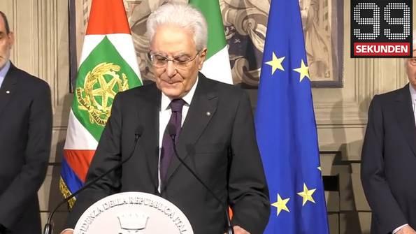 Italiens Regierungsbildung gescheitert - Streik im Flugverkehr