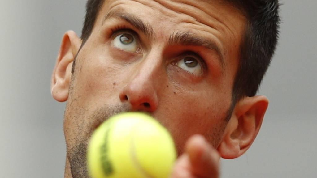Djokovic und Nadal überzeugen weiter