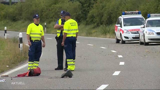 Schwerer Unfall in Rheinfelden