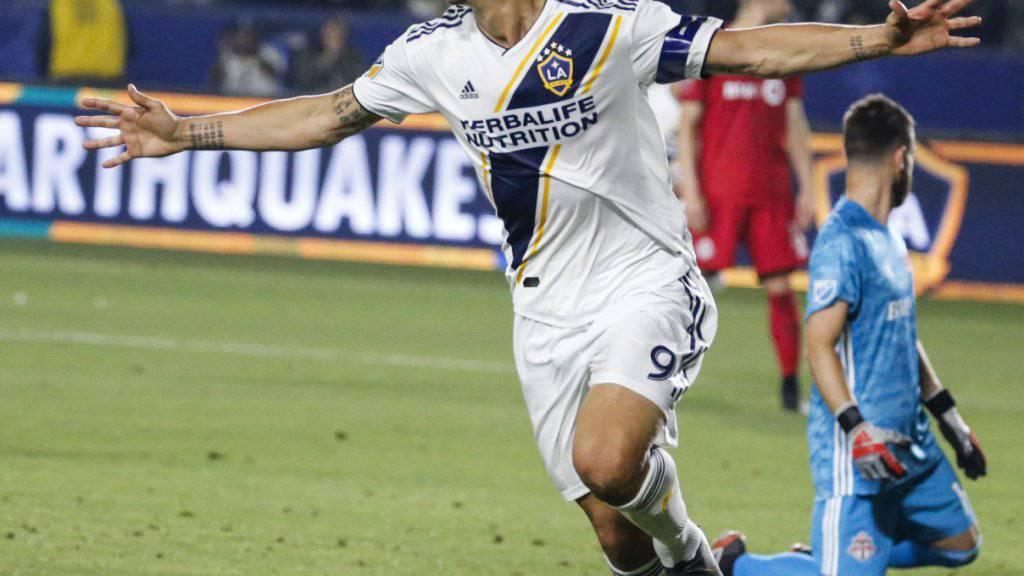 Ibrahimovic gelingt zweiter Hattrick in der MLS