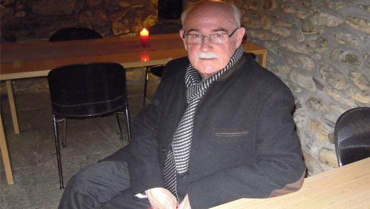 Peter André Bloch erhielt gestern Abend den diesjährigen Solothurner Heimatschutzpreis.