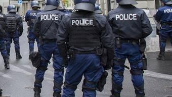 Die Polizei im Einsatz (Symbolbild)