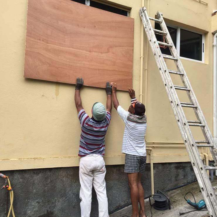 Hurrikan Maria nimmt Kurs auf Guadeloupe.