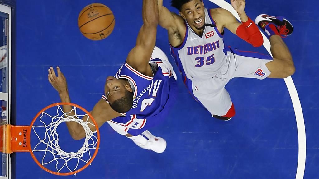Der Spielbetrieb in der NBA ist wegen des Coronavirus bis auf Weiteres unterbrochen