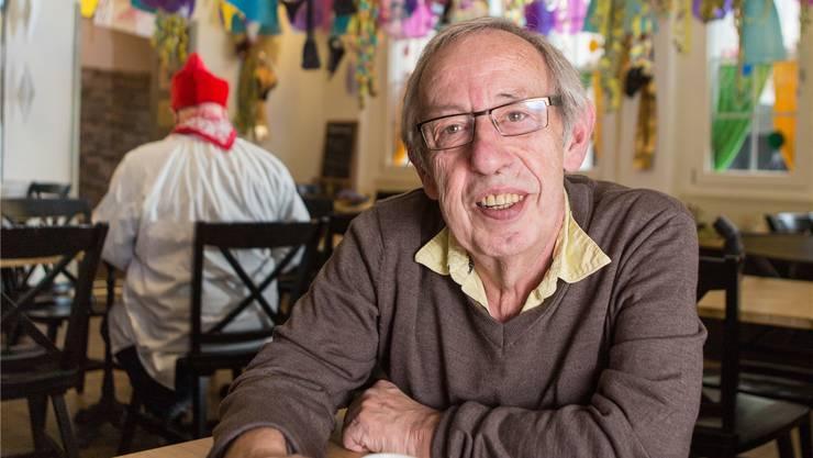 Er war selbst während fünf Jahren in der Gruppe der Gröggle unterwegs, Fritz Rickli.