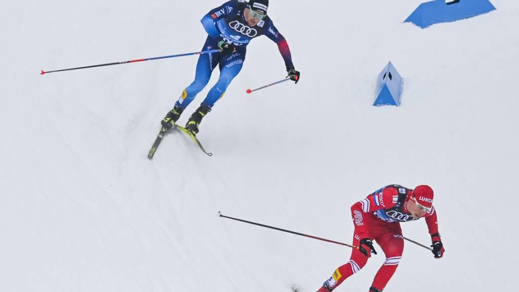 Dario Cologna bliebt im Overall-Klassement klar auf Top-Ten-Kurs