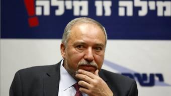 Spaltet selbst die israelische Regierung: der neue Verteidigungsminister Avigdor Lieberman, der am liebsten alle Araber im Land deportieren würde.