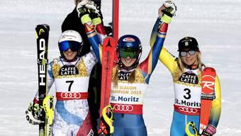 Ski WM: Slalom Frauen
