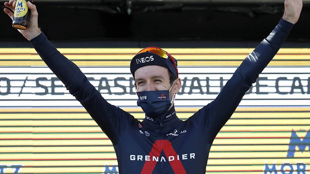 Adam Yates - Triumphator in der ersten Pyrenäen Etappe der Katalonien-Rundfahrt