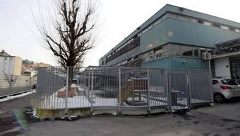 Das Empfangs- und Verfahrenszentrum in Chiasso (Archiv)