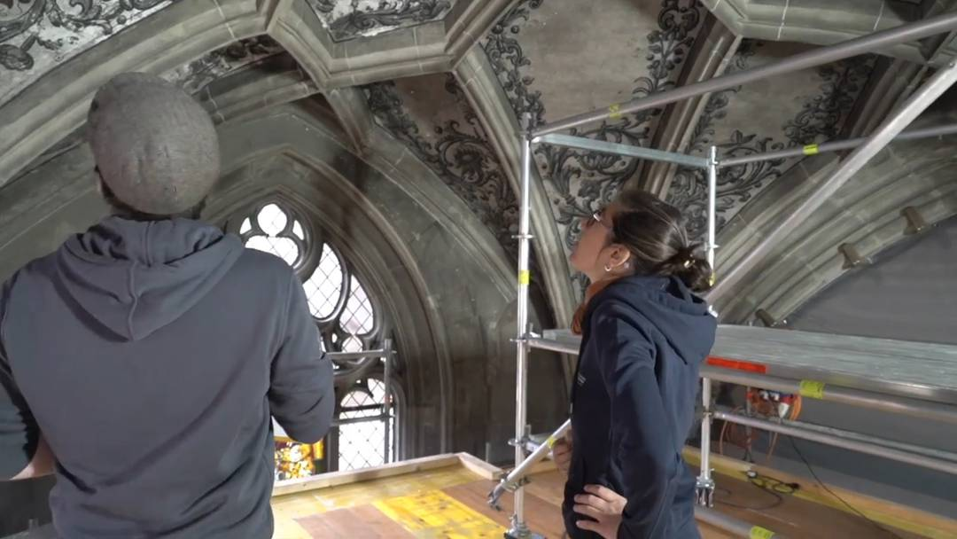 Das Brandrisiko ist auch im Berner Münster ein stetes Thema