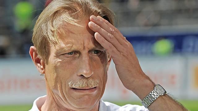 Hält seinen Kopf neu für Brügge hin: Christoph Daum