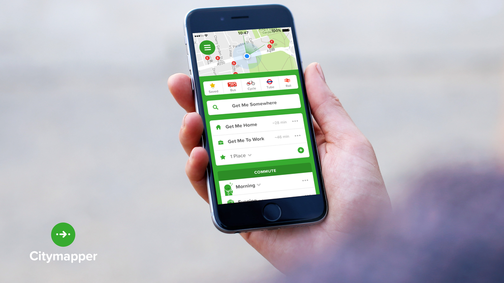 Digital: Citymapper